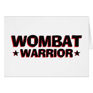 Wombatの戦士 カード