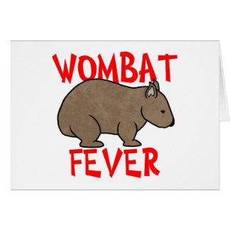 Wombatの熱 カード