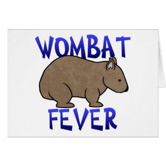 Wombatの熱II カード