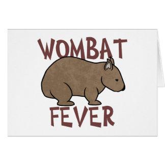 Wombatの熱III カード