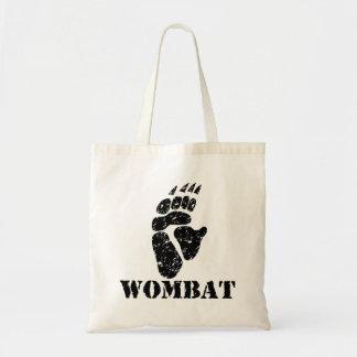 Wombatの足跡 トートバッグ
