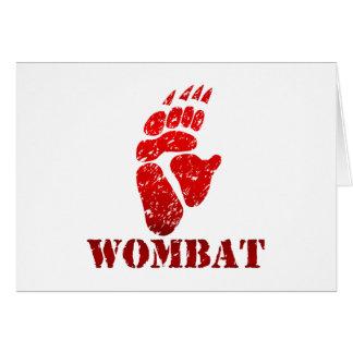 Wombatの足跡II O1 カード