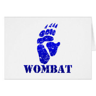 Wombatの足跡III カード
