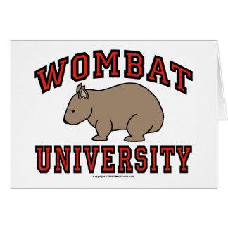 Wombat大学 カード