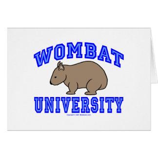 Wombat大学II カード