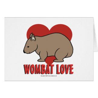 Wombat愛 カード