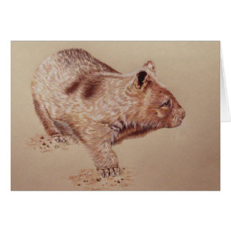 Wombat カード