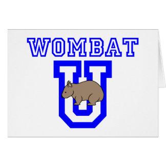 Wombat U カード