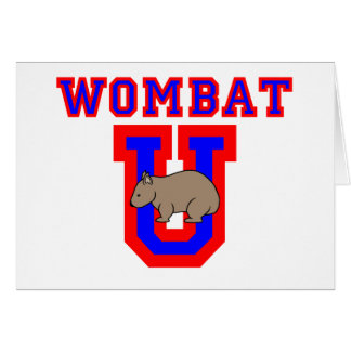 Wombat U II カード
