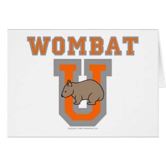 Wombat U III カード