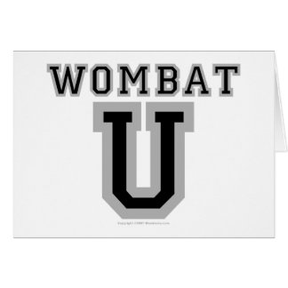 Wombat U V カード