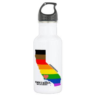 Women's March SLO - LGBTQ ウォーターボトル