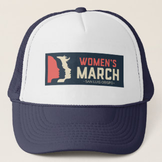 Women's March SLO - Trucker Cap キャップ