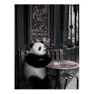 Wondering at a cafe ポストカード