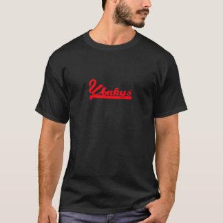 Wonkys -暗闇の赤 tシャツ