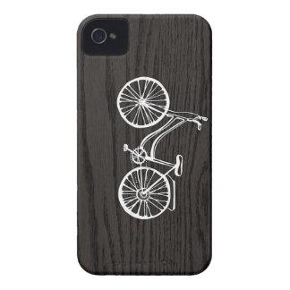Woodgrainのヴィンテージの自転車 Case-Mate iPhone 4 ケース