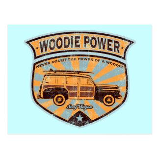 Woodieワゴン ポストカード
