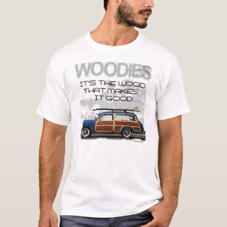 Woodies車のTシャツ Tシャツ