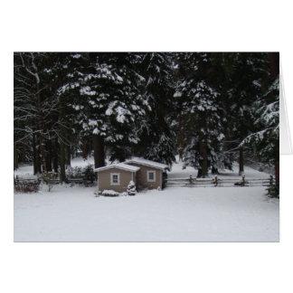 Woodwayの冬 カード
