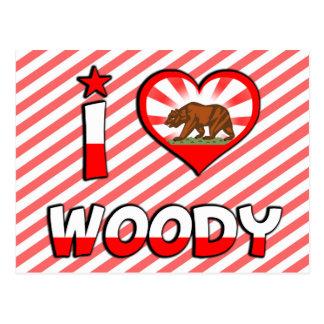 Woody、カリフォルニア ポストカード