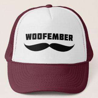 Woofemberのトラック運転手の帽子(バーガンディ) キャップ