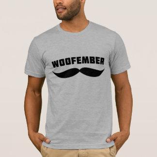 Woofemberのロゴのティー(ヒースの灰色) Tシャツ
