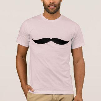 Woofemberの口ひげのティー(淡いピンクの) Tシャツ