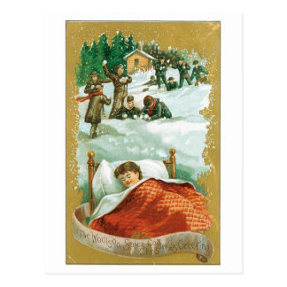 Woolsonのスパイスのクリスマスの挨拶 ポストカード