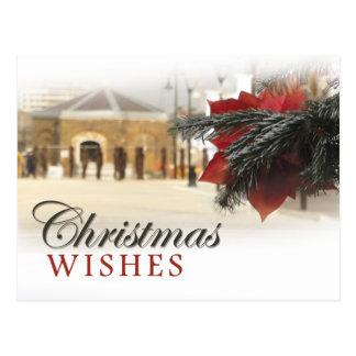 Woolwichの川岸のクリスマス はがき