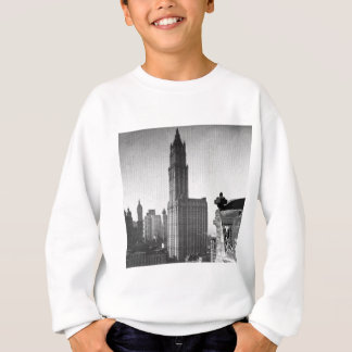 Woolworth造るより低いマンハッタンニューヨークシティ スウェットシャツ