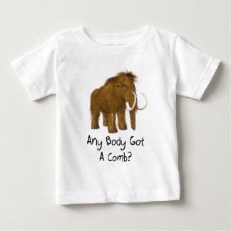 Woolyマンモス ベビーTシャツ