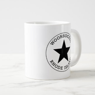 Woonsocketロードアイランド ジャンボコーヒーマグカップ
