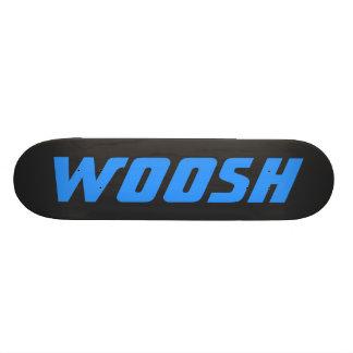 WOOSH -黒の鋭い青 スケートボード