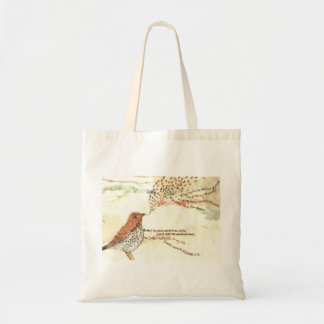 Wordsworthの鳥のトートバック トートバッグ