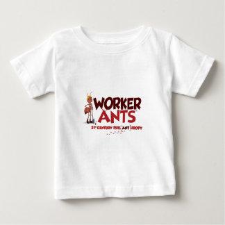 WorkerAntsのクラシック ベビーTシャツ