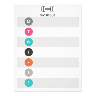 Workout Tracker レターヘッド