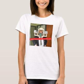 World.comのワイシャツの最も小さい家 Tシャツ