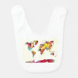 world map colors ベビービブ