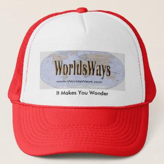 WorldsWaysの帽子 キャップ