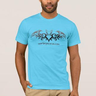 Worleyの洞窟こうもりのワイシャツ Tシャツ