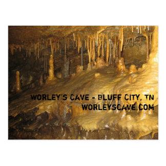 Worleyの洞窟の形成 ポストカード