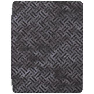 WOVEN2黒い大理石及び黒い水彩画(R) iPadスマートカバー