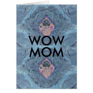 WOWのお母さん カード