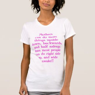 WOWのお母さん Tシャツ