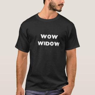 WOWの寡婦 Tシャツ