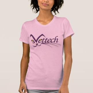 wow獣医の技術のためのVettechのピンクのティーは媒体を大きさで分類します Tシャツ