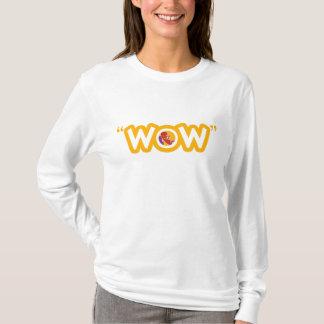 """""""WOW""""のフード付きスウェットシャツ Tシャツ"""