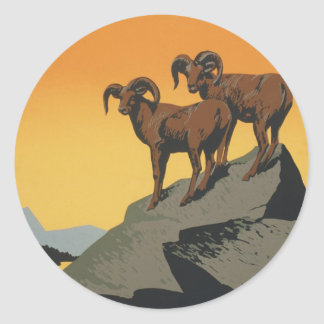WPAのヴィンテージの国立公園の野性生物旅行 ラウンドシール