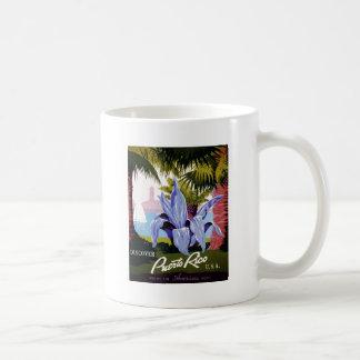 WPA -プエルトリコを発見して下さい コーヒーマグカップ