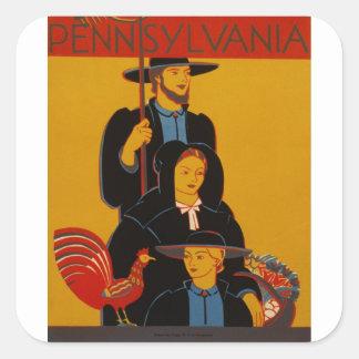 WPA -ペンシルバニア スクエアシール